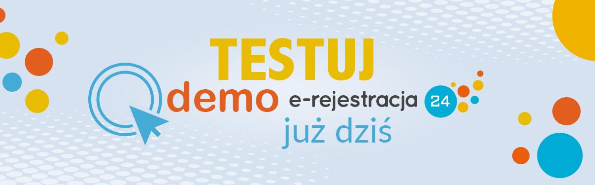 testuj demo e rejestracja